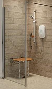 Safe walk in shower Merseyside
