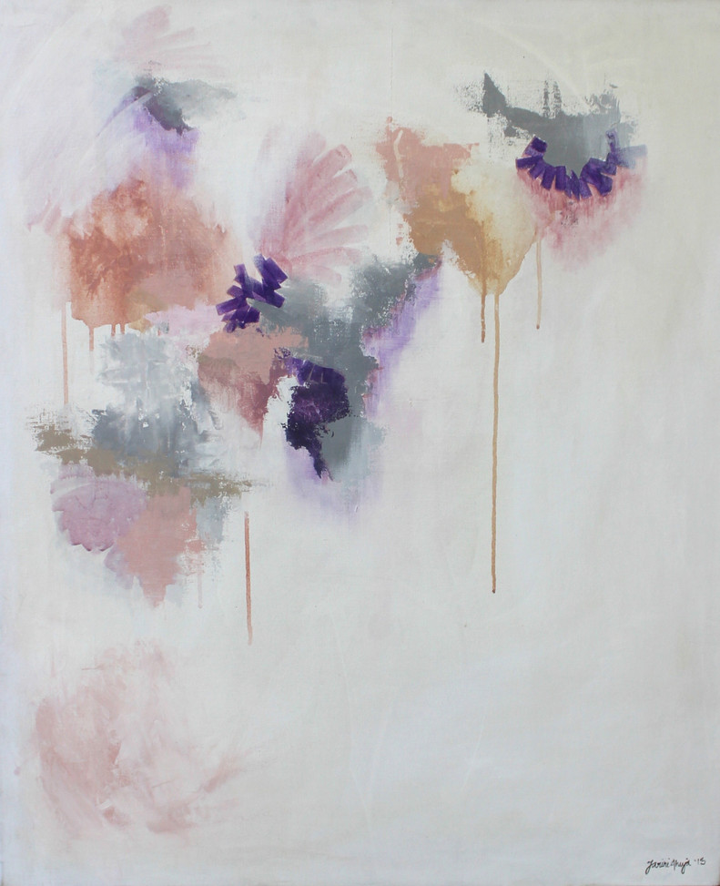 Untitled (pink, peach, purple)