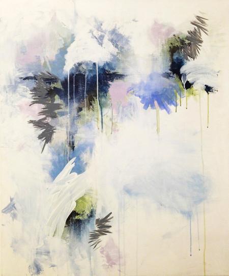 Untitled (grey, blue, lavender)