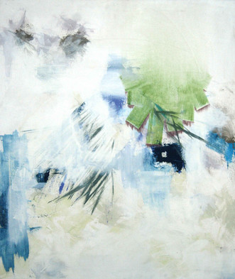Untitled (blue, green, pink)
