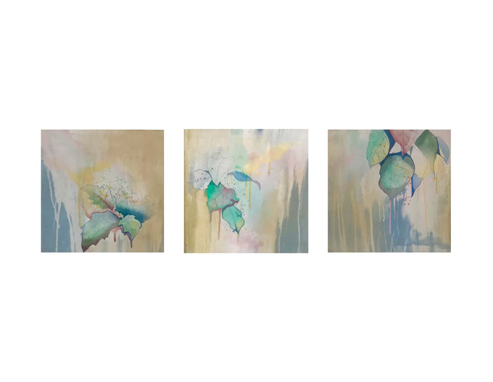 My Places-F.Lush-10, 11 , 12 (triptych).