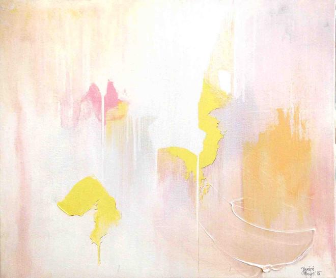 SOLDFluere-Untitled (Pink, lemon, peach)
