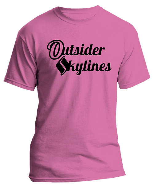 Outsider_Skylines Name Logo : Tshirt