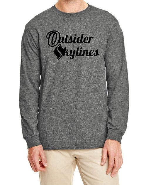 Outsider_Skylines Name Logo : Longsleeve