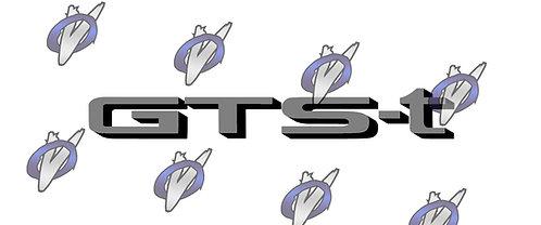 "Nissan Skyline ""GTS-t"" decal : Glitter Colors"
