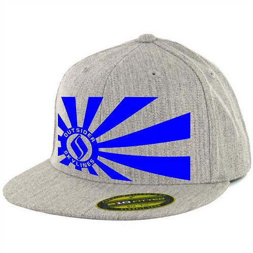Outsider_Skylines Banner: Flexfit 210 hat