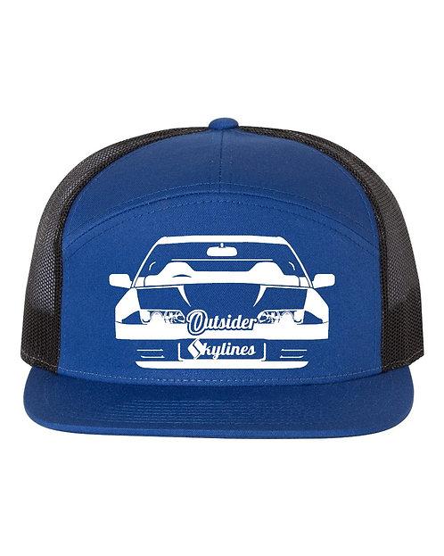 Outsider_Skylines R32 Logo: Richardson Trucker