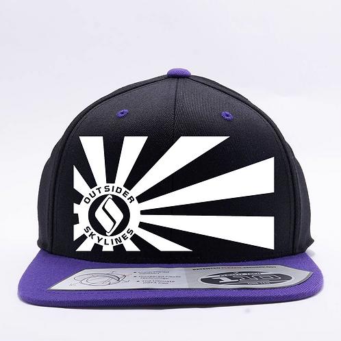 Outsider_Skylines Banner: Flexfit 110FT hat