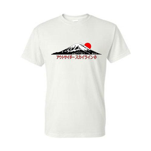 Outsider_Skylines Mt.Fuji : Tshirt