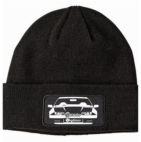 Outsider_Skylines R32 Logo: Patch Beanie