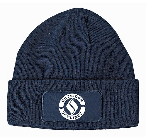 Outsider_Skylines Logo: Patch Beanie