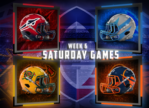 Week 6 AAF Saturday Game Previews