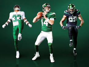 Jets' New-ish Uniforms