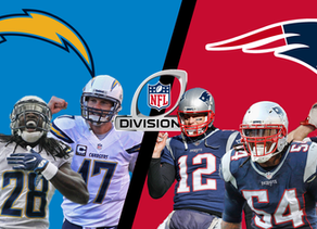 Divisional Round: Chargers vs Patriots