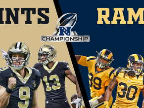 NFC Conference Championship Game: Rams vs Saints