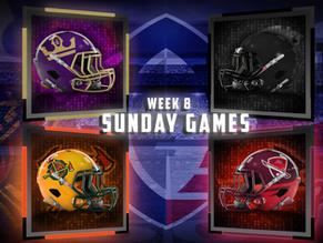 Week 8 Sunday Game Previews