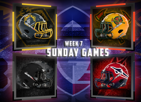 Week 7 AAF Sunday Game Previews