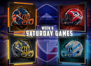 Week 8 Saturday Game Previews