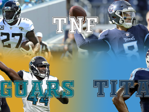 NFL's Thursday Night Football Preview: Jaguars vs. Titans