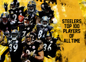 Top 100 Steelers of All Time