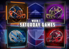 Week 7 AAF Saturday Game Previews