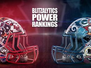 Blitzalytics Week 1 NFL Power Rankings