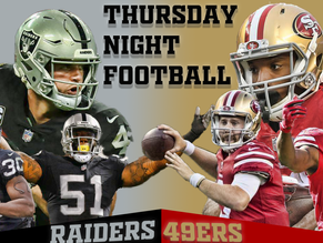 Thursday Night Football Preview: Oakland Raiders (1-6) vs. San Francisco 49ers (1-7)