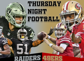 Thursday Night Football Preview: Oakland Raiders (1-6) vs. San Francisco 49ers (1-7)