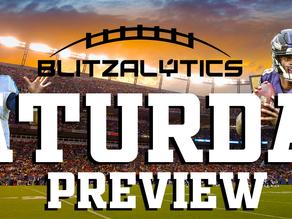 Week 16's Saturday Football Previews