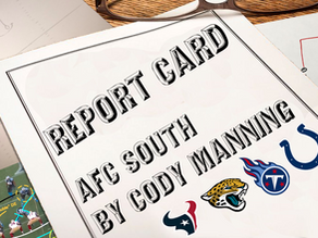 Regular Season Grades: AFC South