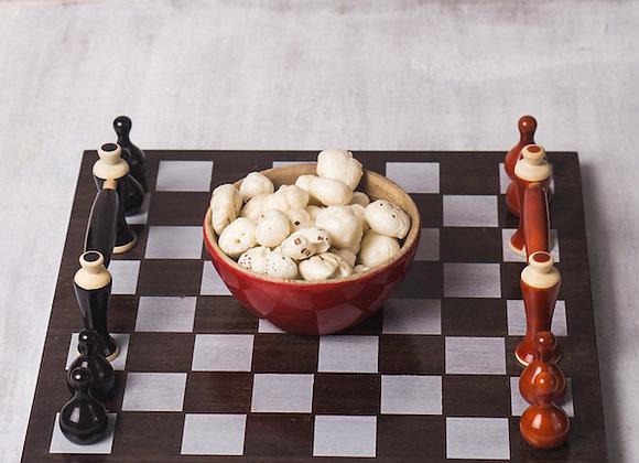MCD - Handmade Chess Tray - Red and Black