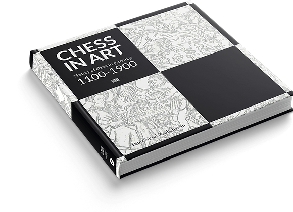 Chess in Art Book - 800 of Chess in One Book