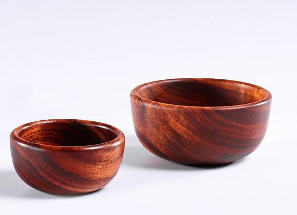 MCD Wooden Snack Bowl