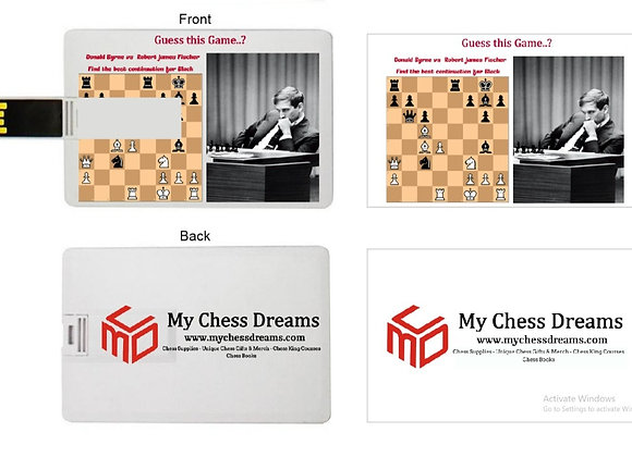 Chess Flat Pendrive