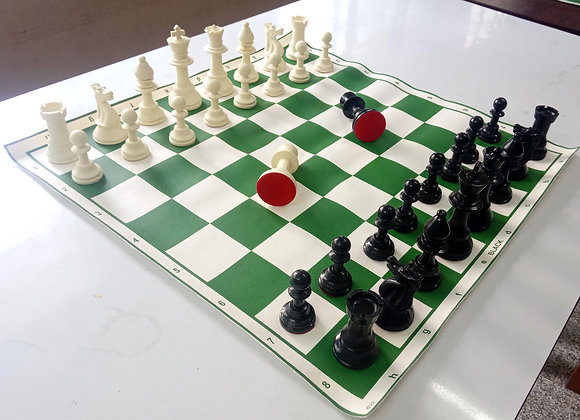 Tournament Standard Chess Sets with Kitbag
