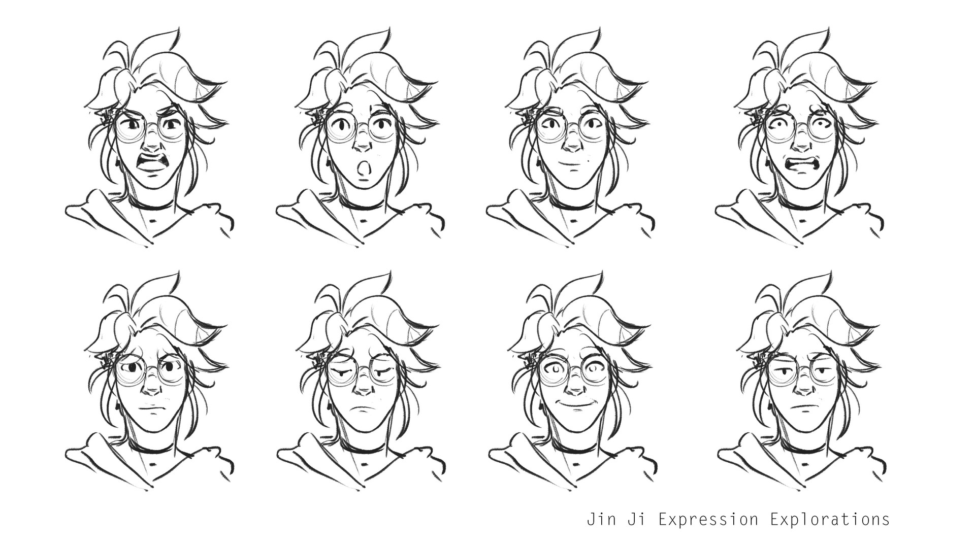JinJi Expression Explorations