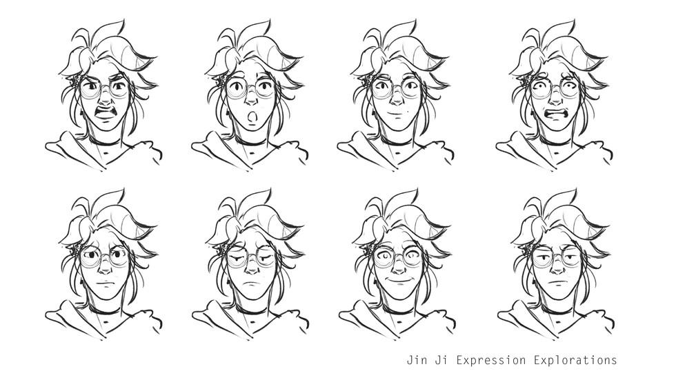 JinJi Expression Explorations