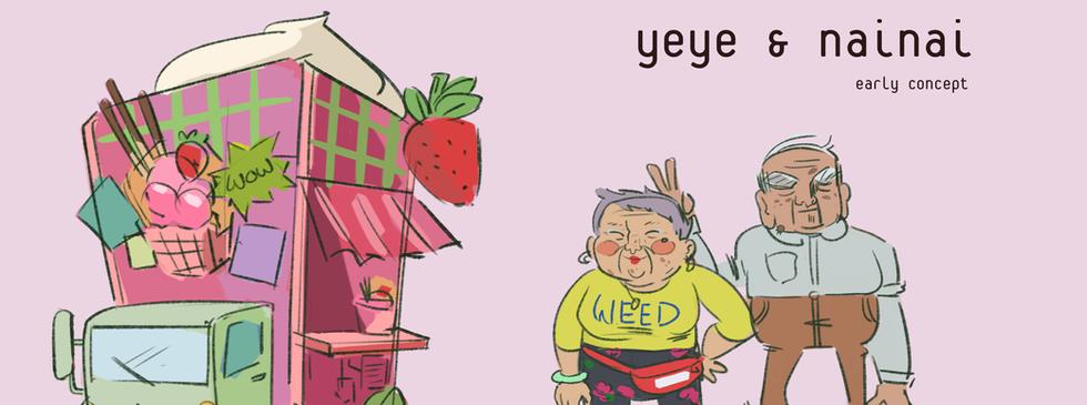 Yeye and Nai Nai