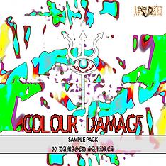COLOUR DAMAGE Sample Pack ARTWORK
