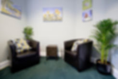 Andrew Cornick Counselling room in Swindon