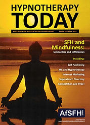 Hypnotherapy Today cover image