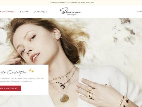 Création de la marque de bijoux shamaï