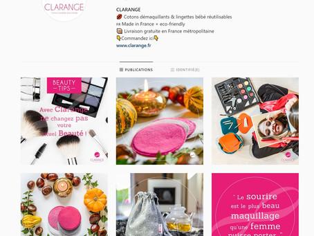 Branding et stratégie social média eco-friendly pour clarange
