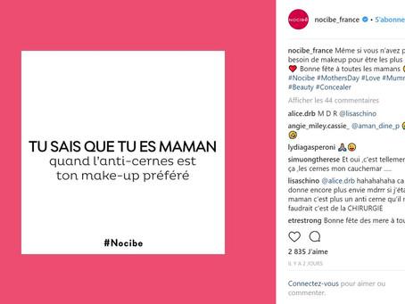 Stratégie Social Media Nocibe