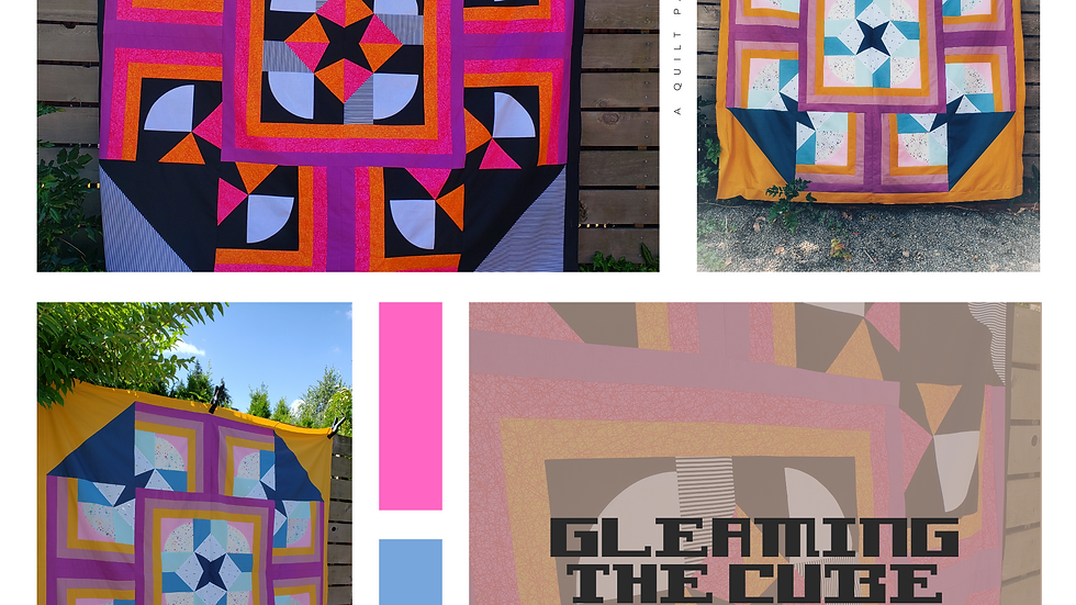 Gleaming The Cube quilt pattern