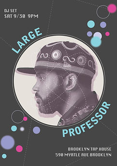 LARGE PROFESSOR FLYER