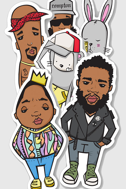 Sticker Five Pack