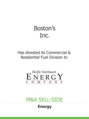 Energy, Logistics