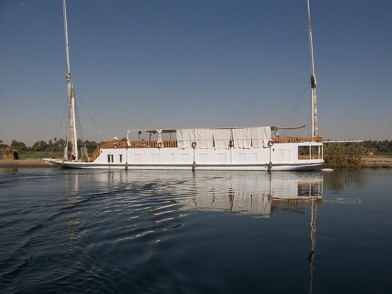 Dahabya on the Nile