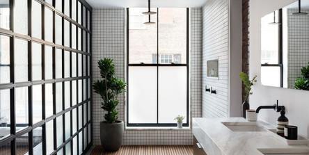 Bathroom in Japan style